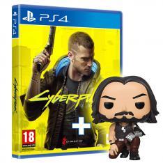 KIT CYBERPUNK 2077 EDICION DAY ONE PS4 + FUNKO JOHNNY SILVERHAND