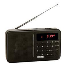 RADIO DIGITAL DAEWOO DRP-122/ USB