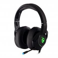 AURICULARES CON MICROFONO COOLBOX DEEPCHROMA GAMING RGB JACK