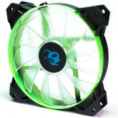 VENTILADOR GAMING COOLBOX DEEPGAMING DEEPWIND LED VERDE 120MM
