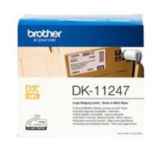 ETIQUETAS PAPEL PRECORTADA BROTHER DK11247 103 x 164 MM 180E QL1050/ QL1100