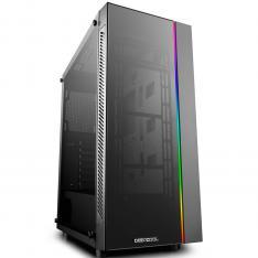 CAJA ORDENADOR GAMING DEEPCOOL MATREXX 55 ADD-RGB ATX / CRISTAL TEMPLADO / USB / NEGRO