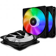 VENTILADOR DISIPADOR CPU GAMING DEEPCOOL CF 120 3 EN 1 ARGB 120MM