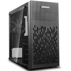 CAJA ORDENADOR GAMING DEEPCOOL 30 MICRO ATX / CRISTAL TEMPLADO / USB / NEGRO