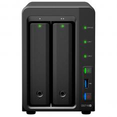 SERVIDOR NAS SYNOLOGY DISK STATION DS718+ 2 GB 2 BAHIAS RAID ETHERNET GIGABIT