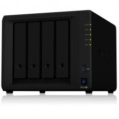 SERVIDOR NAS SYNOLOGY DISK STATION DS918+ 4GB 4 BAHIAS  RAID  ETHERNET GIGABIT