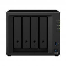 SERVIDOR NAS SYNOLOGY DISK STATION DS920+ 4GB 4 BAHIAS  RAID  ETHERNET GIGABIT