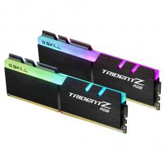 MODULO DDR4 16G 2X8G PC3200 G.SKILL TRIDENT Z RGB/CL16-18-18-38 1.35V F4-3200C16D-16GTZRX