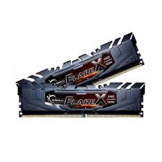 MEMORIA DDR4 16G 2X8G PC3200 G.SKILL FLARE X NEGRO/CL16-18-18-38 1.35V F4-3200C16D-16GFX