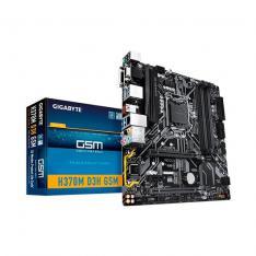 PB GIGABYTE 1151-8G H370M D3H GSM M-ATX/4XDDR4/6XSATA3/2XUSB+1XUSB3.0 FP GAH37M3HG-00-G