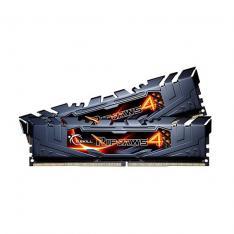 MODULO MEMORIA RAM DDR4 16G 2X8G PC3000 G.SKILL RIPJAWS 4  NEGRO