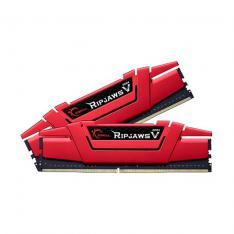 MODULO MEMORIA RAM DDR4 16G 2X8G PC3000 G.SKILL RIPJAWS V ROJO