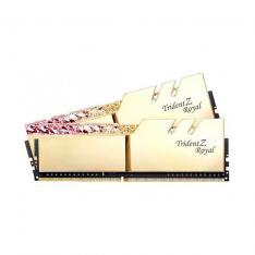 MODULO MEMORIA RAM DDR4 32G 4X8G PC3600 G.SKILL TRIDENT Z ROY ROYAL GOLD RGB CL18