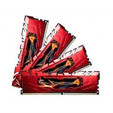 MODULO MEMORIA RAM DDR4 32G 4X8G PC2400 G.SKILL RIPJAWS 4  ROJO CL15