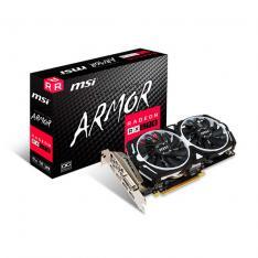 TARJETA GRAFICA MSI RX570 ARMOR OC 4GB GDDR5 3XDP/1XHDMI/DVI-D/8P