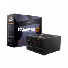 FUENTE ATX 500W NOX HUMMER ALPHA X500W 80+ BRONZE / SEMIMODULAR NXHUMMERA500WBZ
