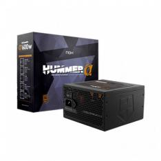 FUENTE ATX 600W NOX HUMMER ALPHA  X600W 80+ BRONZE / SEMIMODULAR NXHUMMERA600WBZ