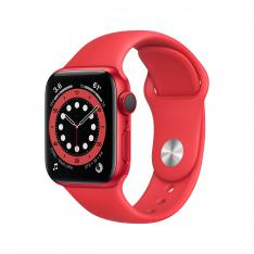 APPLE WATCH SERIES 6 M06R3TY/A / GPS / CELL 40MM /  ROJO