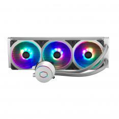 REFRIGERACION LIQUIDA COOLERMASTER ML360P RGB PLATA SILVER EDITION / RGB / MULTISOCKET