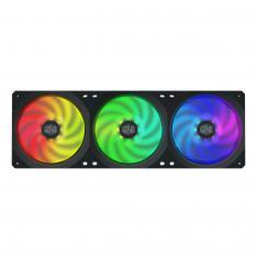 VENTILADOR 360X120 COOLER MASTER SF360R ARGB 3 VENTILADORES EN 1/ PWM / 9 ASPAS