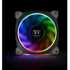 VENTILADOR 120X120 THERMALTAKE RIING PLUS 12 RGB TT 3UDS PACK 3 UNDS / VENT 120X120MM RGB / 1500 RPM