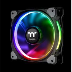 VENTILADOR 140X140 THERMALTAKE RIING PLUS 14 RGB TT 3UDS PACK 3 UNDS / VENT 140X140MM RGB / 1400 RPM