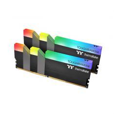 MODULO MEMORIA RAM DDR4 16G 2X8G PC4400 THERMALTAKE TOUGHRAM N / RGB / CL19 1.45V / NEGRO