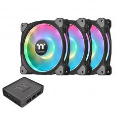 VENTILADOR 120X120 THERMALTAKE RIING DUO 12 RGB TT PACK 3 UNDS / VENT 120X120MM RGB / 1500 RPM