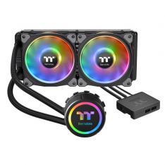 VENTILADOR CPU REFRIGERACION LIQUIDA THERMALTAKE FLOE DX RGB 240 TT / 2XVENT 120X120MM RGB / MULTISOCKET