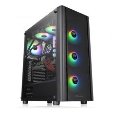 TORRE ATX THERMALTAKE V250 ARGB / 4XVEN 120MM INCLUIDOS / CRISTAL TEMPLADO / NEGRO