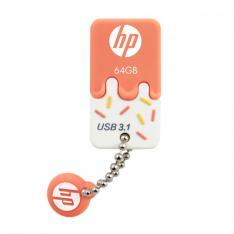 MEMORIA  USB 3.0 HP 64GB X778W NARANJA