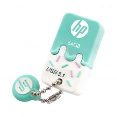 MEMORIA USB 3.0 HP 64GB X778W VERDE