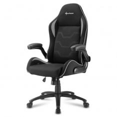 SILLA GAMING SHARKOON ELBRUS 1 NEGRO GRIS 160G