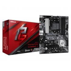 PLACA BASE ASROCK AM4 B550 PHANTOM GAMING 4 ATX / 4XDDR4 / 6XSATA6 / 1XUSB 3.2 / 2XUSB 2.0 90-MXBCY0-A0UAYZ