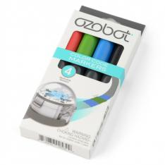 ROTULADOR LARGE MARKERS OZOBOT COLORES NEGRO ROJO AZUL VERDE