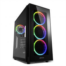 CAJA SHARKOON TG5 SILENT PCGH ATX 2XUSB3.0 2XUSB2.0 RGB