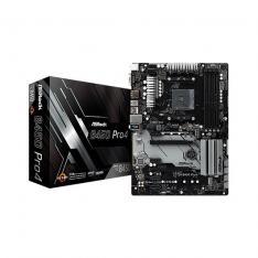 PLACA BASE ASROCK AM4 B450 PRO4 ATX / 4 X DDR4 / 6 X SATA3 / 2 X USB + 1 X USB 3.0 FP 90-MXB8B0-A0UAYZ