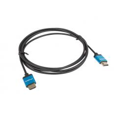CABLE HDMI LANBERG MACHO/MACHO V2.0 4K SLIM 1M NEGRO