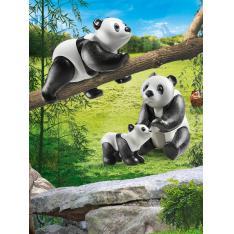 PLAYMOBIL DIVERSION EN FAMILIA PANDAS CON BEBE