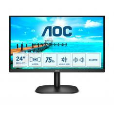 """MONITOR LED 23.8"""" AOC 24B2XDAM / VGA / HDMI / DVI / 1920X1080 / 75HZ / 4MS / VESA 100X100"""