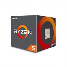 MICRO. PROCESADOR AMD AM4 RYZEN 5 1600 6X3.6GHZ/19MB BOX SIN GRAFICOS/WRAITH STEALTH COOLER YD1600BBAFBOX