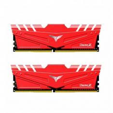 MEMORIA RAM  DDR4 32GB 2X16GB 3200MHz TEAMGROUP DARK Z ROJO / CL 16 / 1.35V TDZRD432G3200HC16FDC01