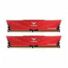 MEMORIA RAM DDR4 32GB 2X16GB 3200MHz TEAMGROUP VULCAN Z ROJO / CL 16 / 1.35V TLZRD432G3200HC16FDC01