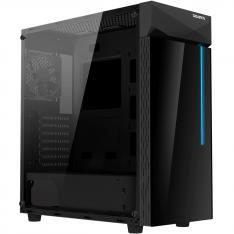 CAJA GAMING GIGABYTE C200G ATX 2XUSB3.0 1XUSBC RGB S/F NEGRO