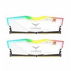 MODULO DDR4 32GB 2X16GB 3600MHz TEAMGROUP DELTA RGB/BLANCO/CL 18/1.35 V TF4D432G3600HC18JDC01