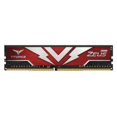 MEMORIA RAM DDR4 8GB 2666MHz TEAMGROUP ZEUS ROJO CL 19/1.2V TTZD48G2666HC1901