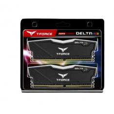 MEMORIA RAM  DDR4 32GB 2X16GB 3600MHz TEAMGROUP DELTA RGB/NEGRO/CL 18/1.35 V TF3D432G3600HC18JDC01