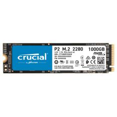 DISCO DURO INTERNO SSD M.2  CRUCIAL P2 1TB M2