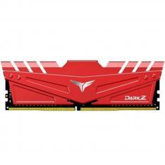 MEMORIA RAM DDR4 16GB 2X8GB 3200MHz TEAMGROUP DARK Z ROJO/CL 16/1.35V TDZRD416G3200HC16CDC01