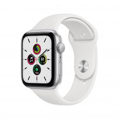 RELOJ APPLE WATCH SERIES SE GPS 44MM SILVER SE/ALUMINIUM CASE WITH WHITE SPORT BAND/GPS MYDQ2TY/A